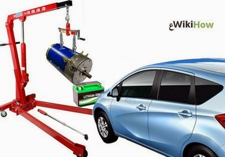 تركيب محرك كهربائي في سيارة، استبدال محرك السيارة بمحرك كهربائي، كيف تخفف استهلاك السيارة من البنزين