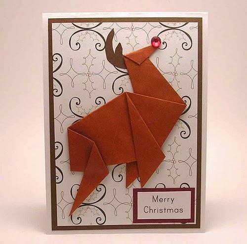 renifer origami
