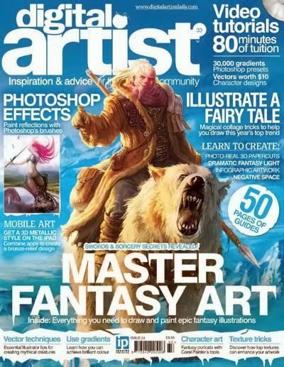 Digital Artist Magazine Issue 33