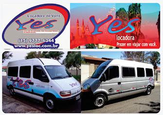 Yes Locadora de Vans Prazer em viajar com você