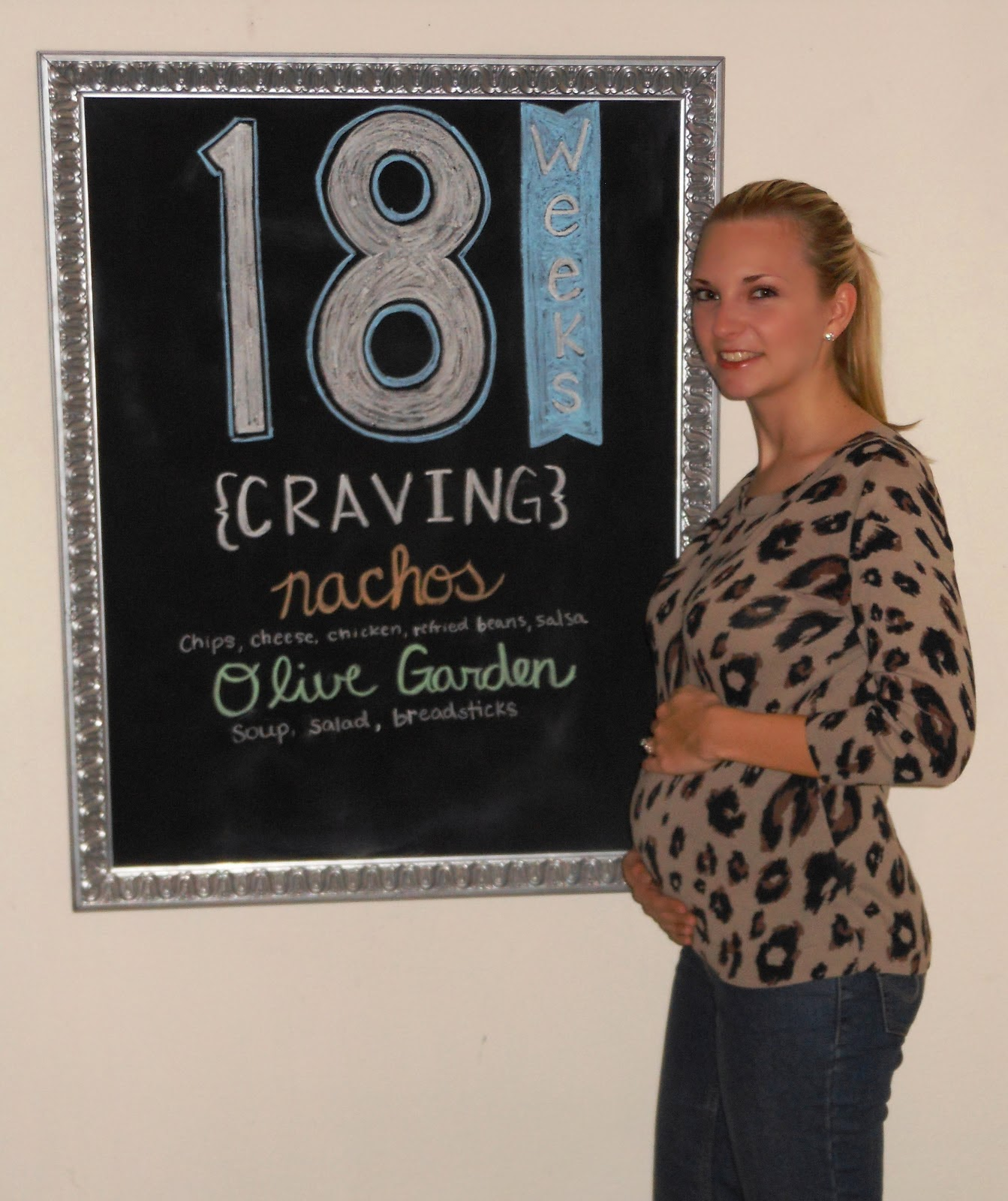 Being Mrs. Riley: Pregnancy: 18 Weeks #2