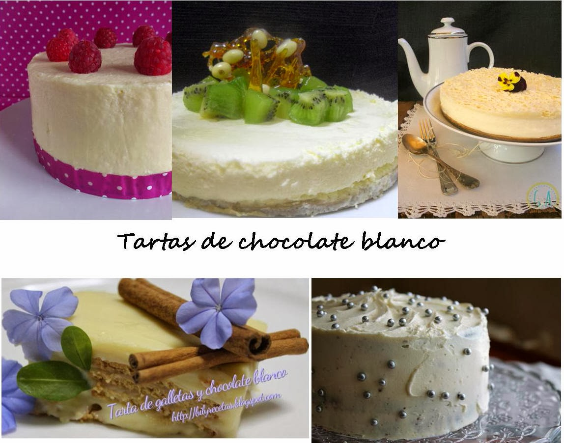 Receta tarta chocolate blanco
