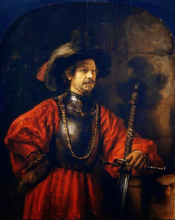 Rembrandt Exhibition Shell : Art artists rembrandt part
