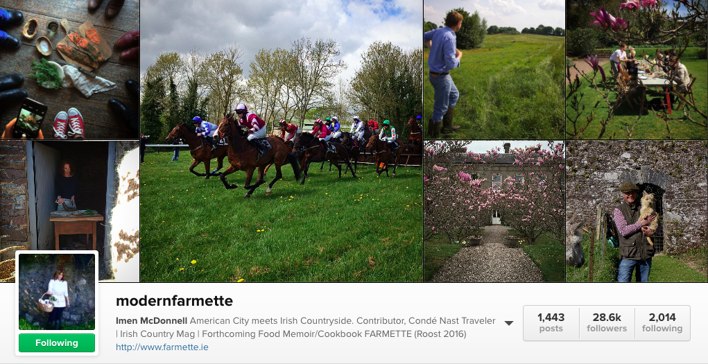 Farmette - 6 Irish Food Instagram to follow