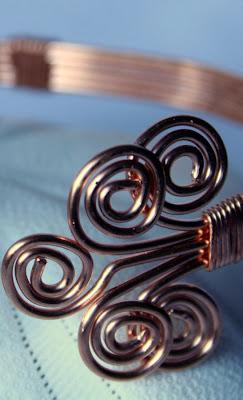Anna (gracious): copper bracelet :: All Pretty Things