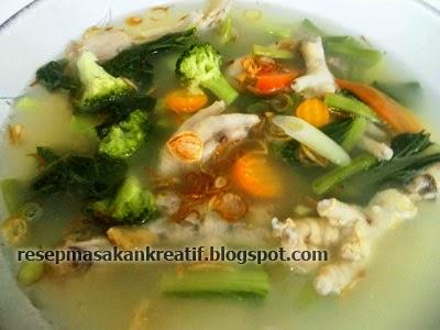 Resep Sop Ceker Ayam