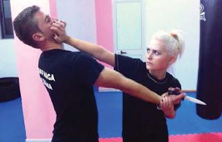 Ermela Mezuraj ushtron artet marciale