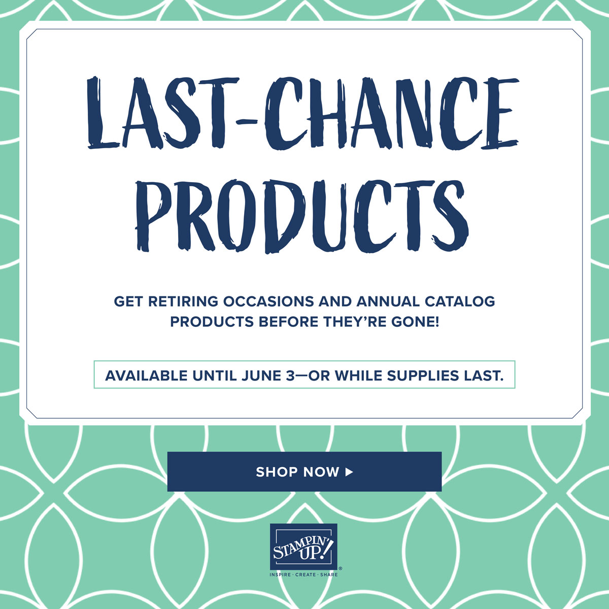 Retiring Annual Catalog Products