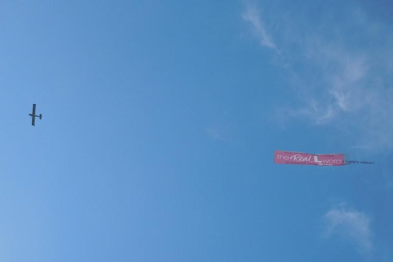 Real L Word sky Pride banner