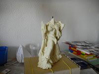 orme magiche eva 01 neon genesis evangelion scultura modellini statuette sculture action figure personalizzate fatta a mano stampo in resina super sculpey milliput