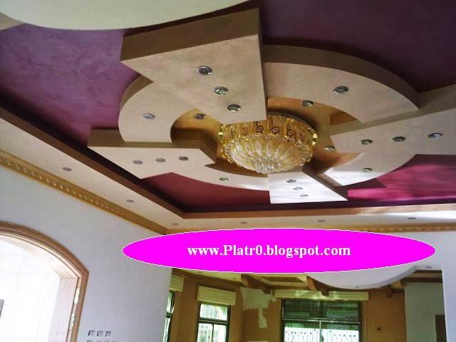 Décor Platre marocain 2015  Décoration Platre Maroc  Faux Plafond