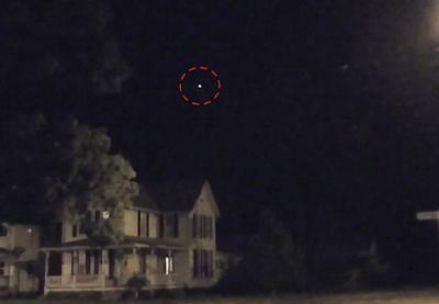 Glowing UFO Captured Above Ohio 2015, UFO Sighting News