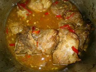 Steamed  Fermented Soybean Pork