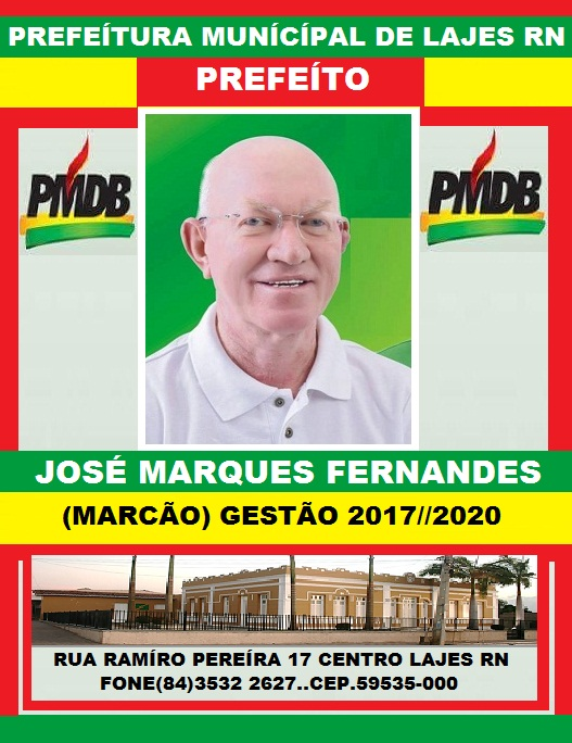 PREFEITO JOSÉ MARQUES FERNANDES LAJES RN