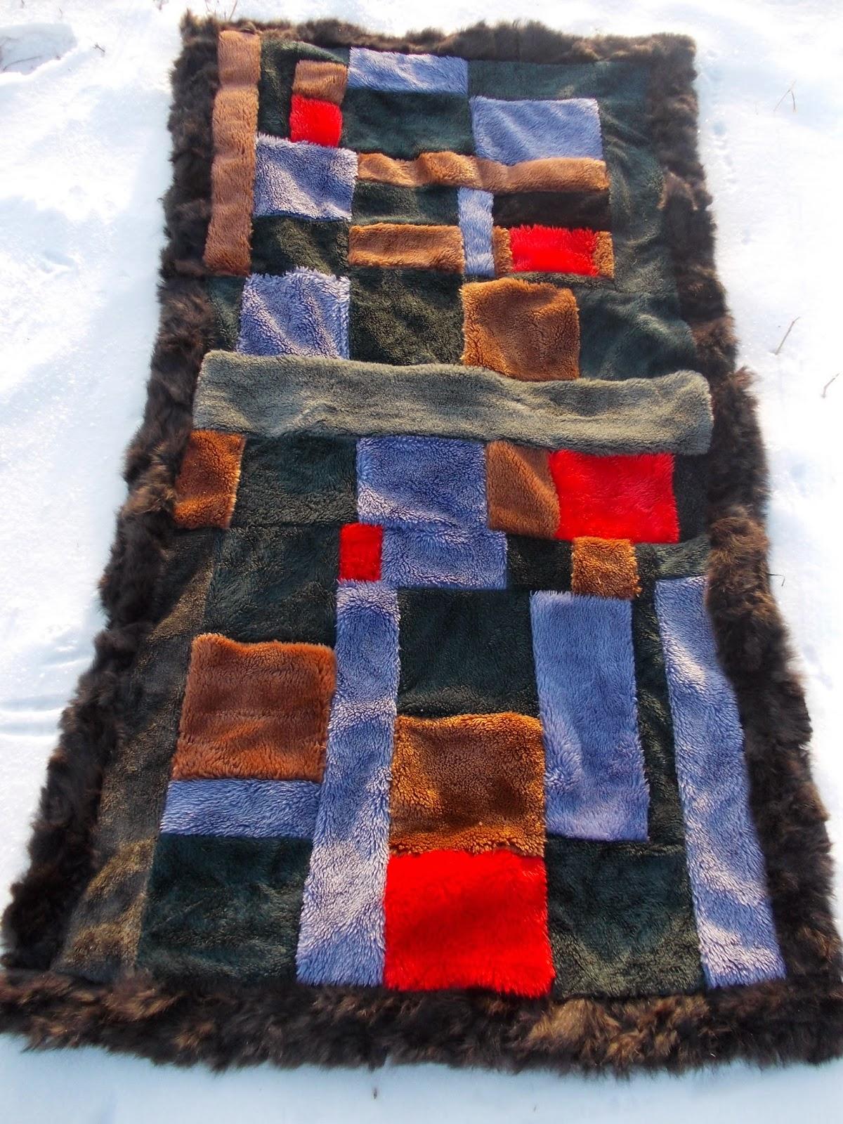 коврик из меха