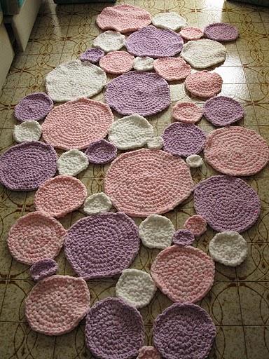 Alfombras A Crochet - Hogar Y Ideas De Diseño - Feirt.com