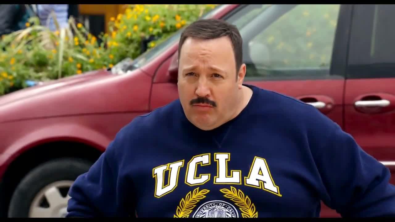Review: 'Paul Blart: Mall Cop 2,' starring Kevin James, Raini ...