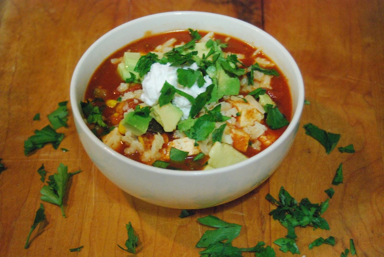 Vegetarian Chili with Tofu ~ New York Food Journal