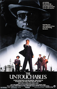 Poster de Los intocables de Eliot Ness