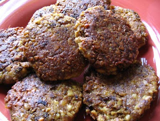 Tempeh-Miso Breakfast Patties