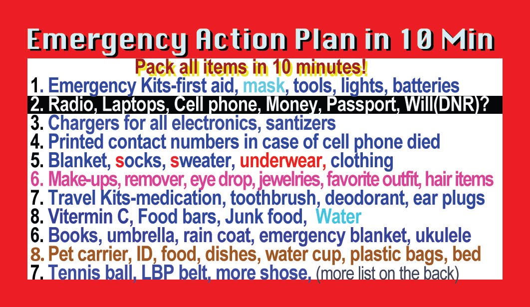Emergency Action Plan in 10 Min