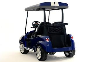 Shelby GT500 Golf Car
