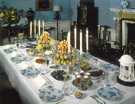 English historical fiction authors why porcelain replaced for 17th century french cuisine