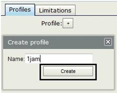 Menu Profiles