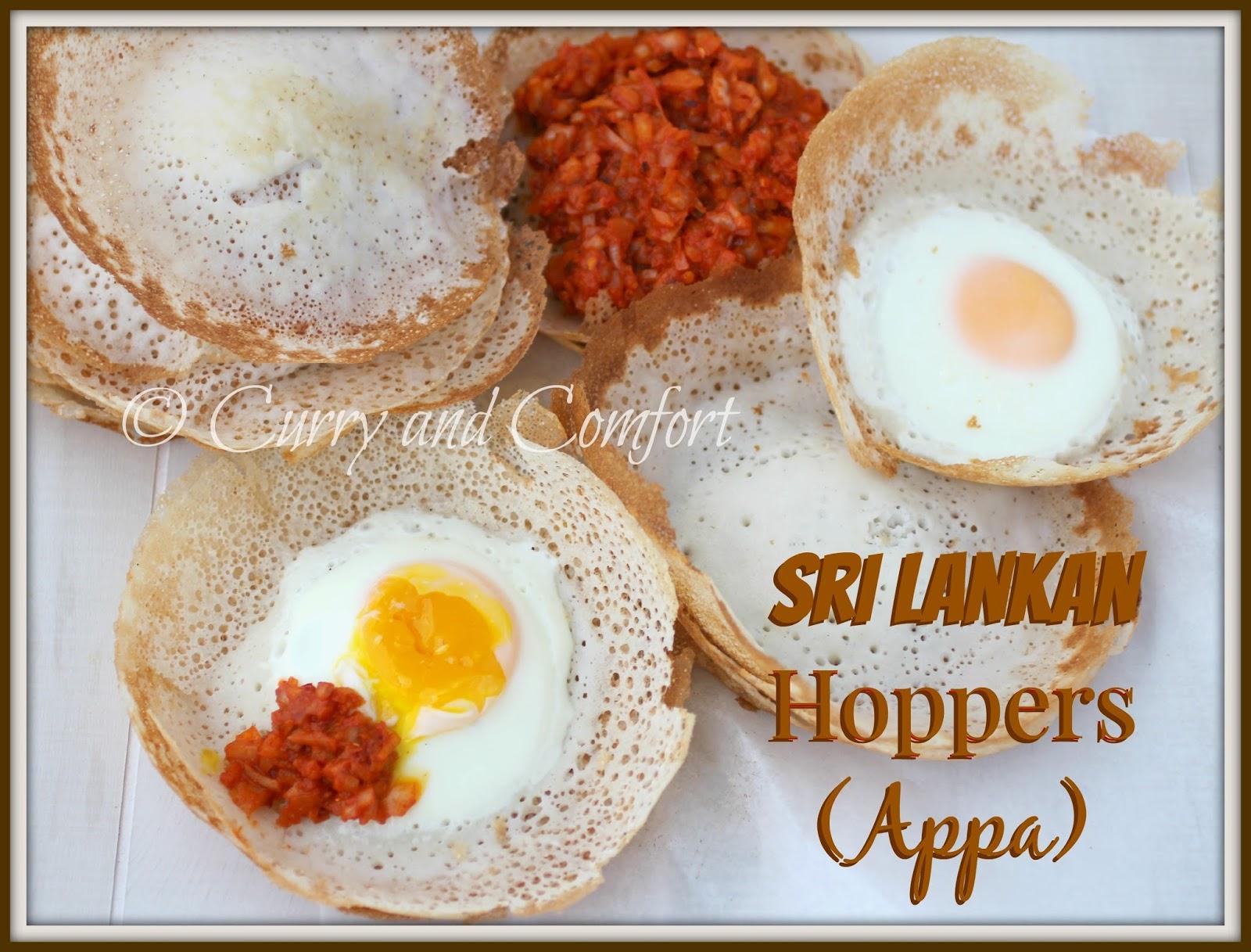 Kitchen Simmer: Sri Lankan Hoppers (Appa)