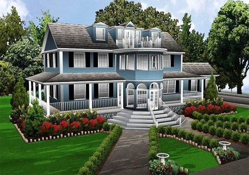 Beauty houses new house structure plan for New home structure