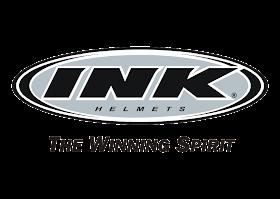 INK Helmet Logo Vector download free