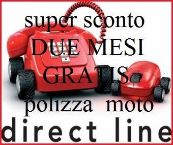 promozione direct line polizza moto