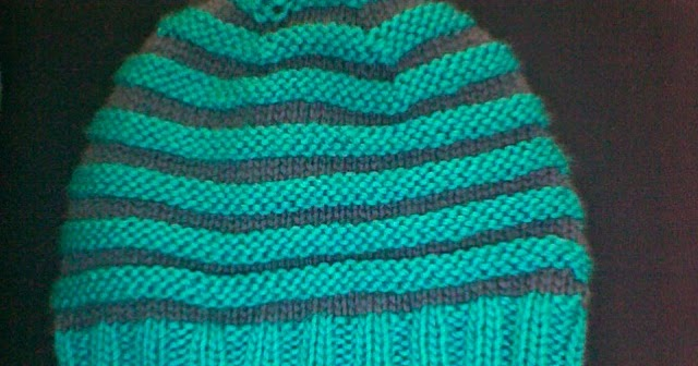 Knitting Picking Up Stitches For Band : One Yarn Over: A New Hat...