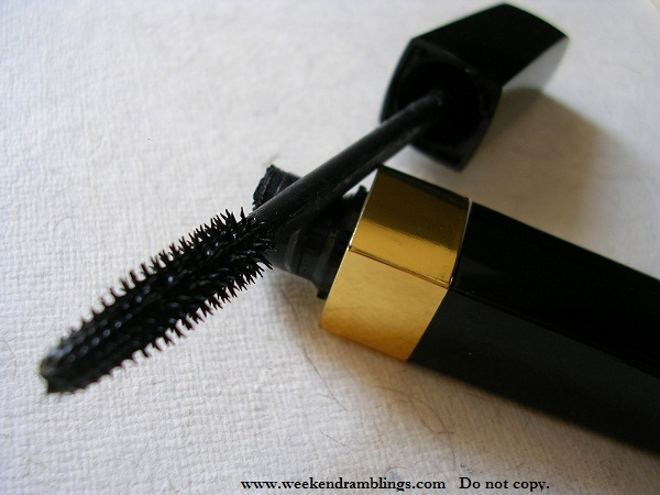 chanel mascara sublime de deep black reviews eotds swatch