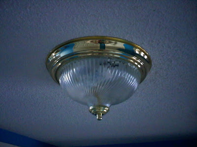 Light Fixture Before Painting