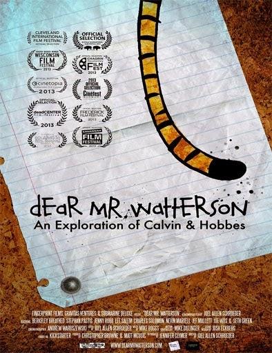 Ver Dear Mr. Watterson (2013) Online