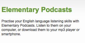 English podcasts