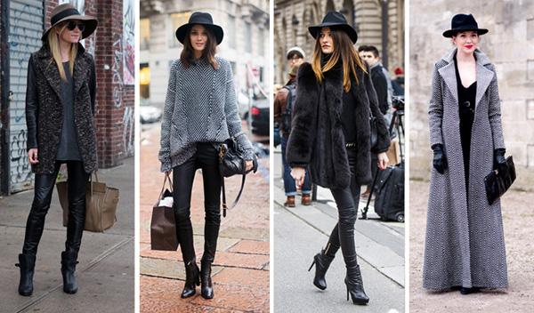 Модные луки 2 15-2 16 осень-зима: лучшие образы из