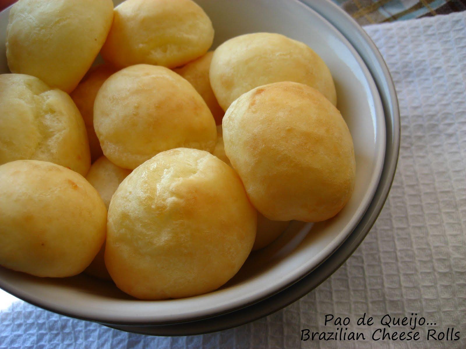 ... Montana: Brazilian Pao de Queijo....or Cheese Bread Rolls(Gluten-Free