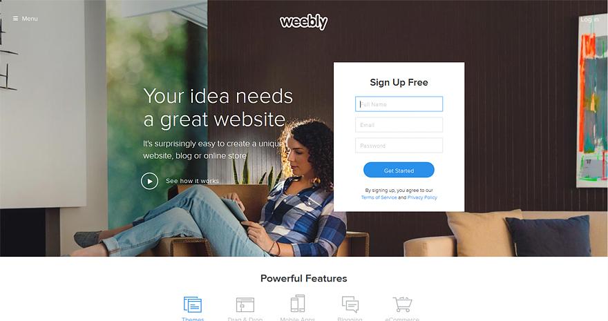 Best eCommerce Website Builders
