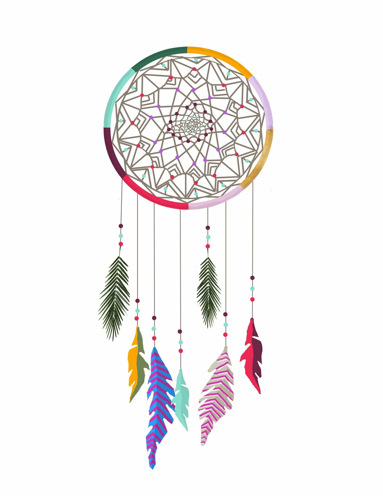 Colorful Dreamcatcher Tumblr dream catcher tumblr backgrounds related ...