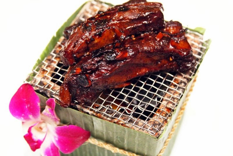 siamese pork ribs silk road thai cuisine by chef cecille chang