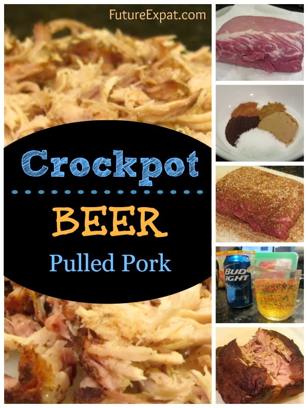 Crockpot Beer Pulled Pork