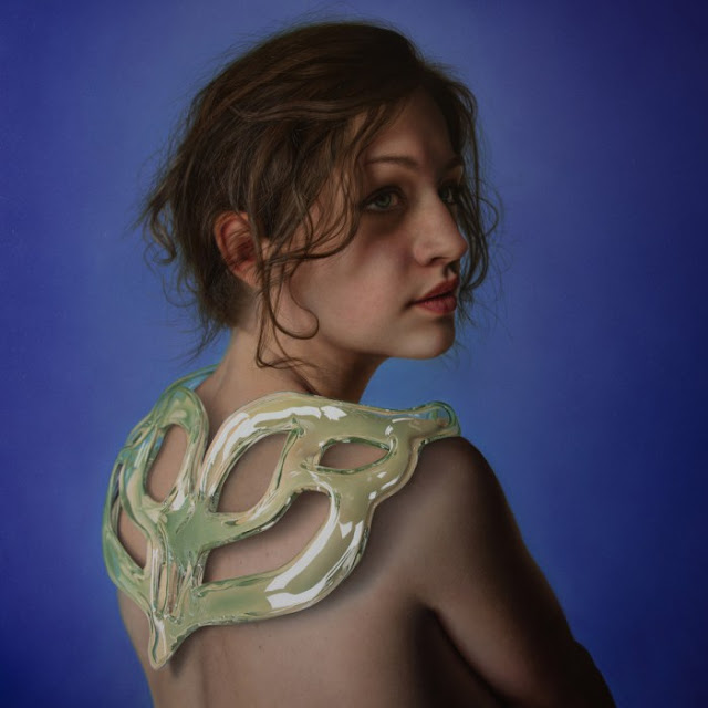 surreal hyperrealistic painting by Marco Grassi