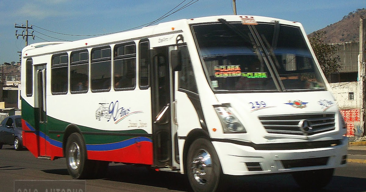 Soloautobus ayco zafiro autotransportes san pedro santa clara for Mercedes benz san pedro