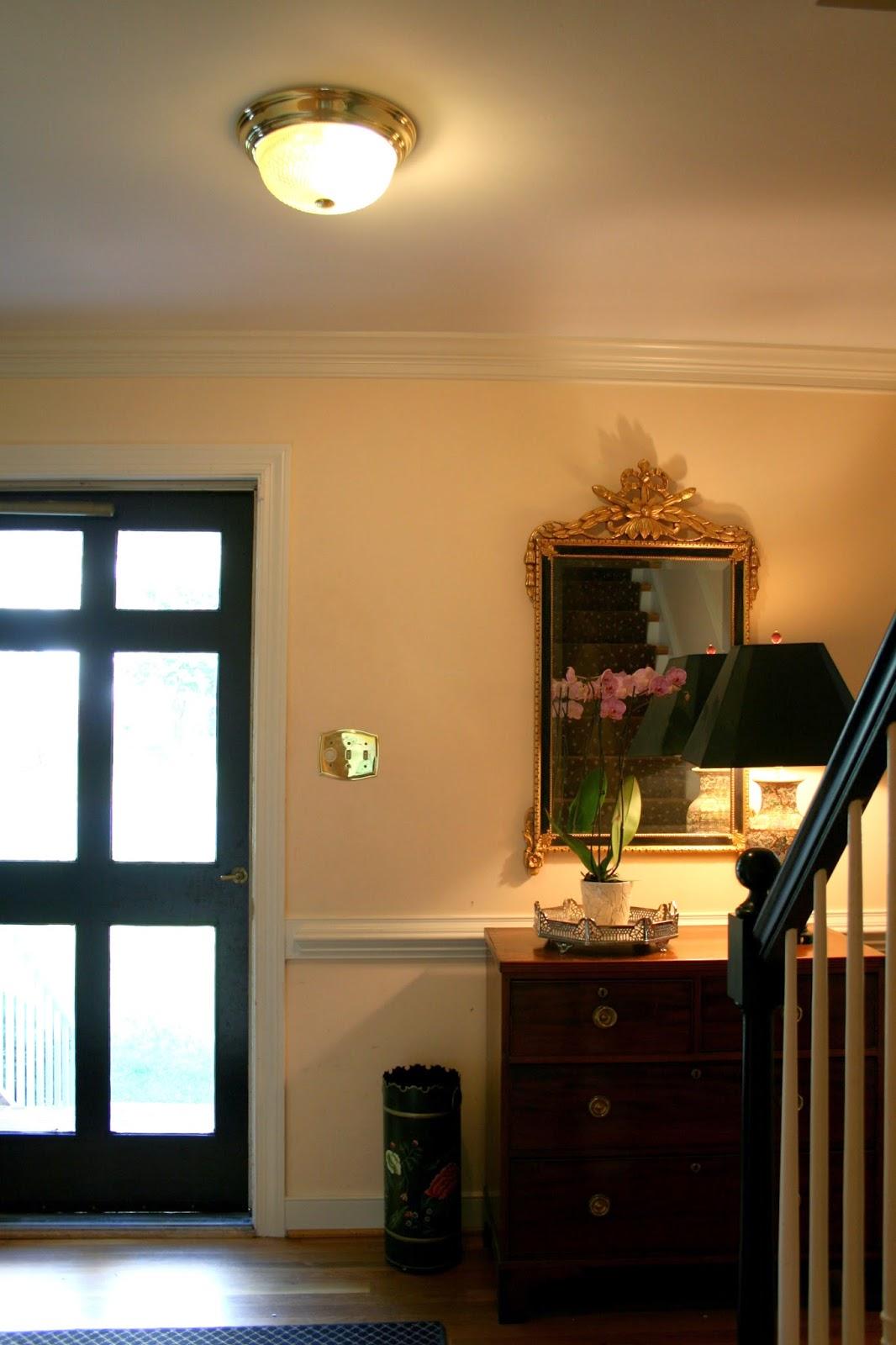 Foyer Lighting Flush Mount : Richmond real estate mom flush mount foyer lighting