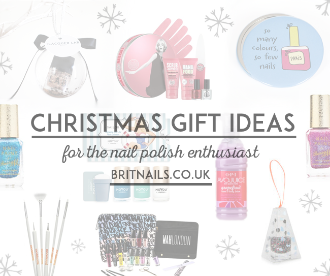 Christmas Gift Ideas For Nail Polish Lovers