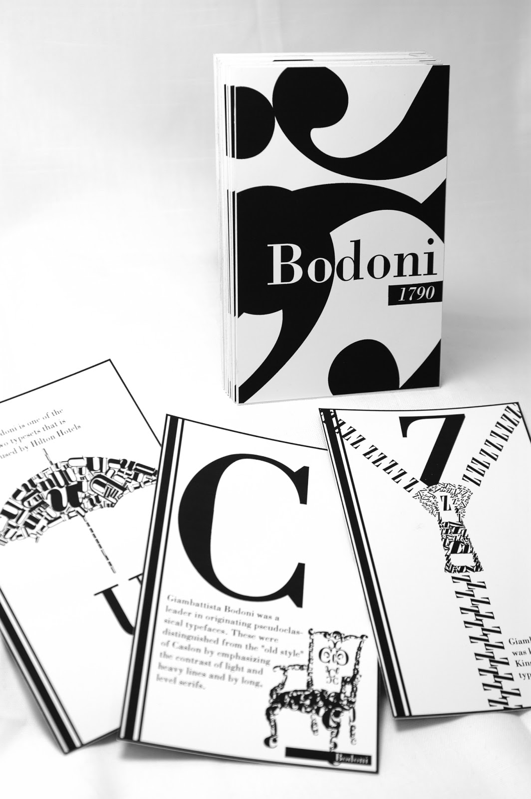 student work typography a to z history of bodoni typeface flash cards i heart bleeds
