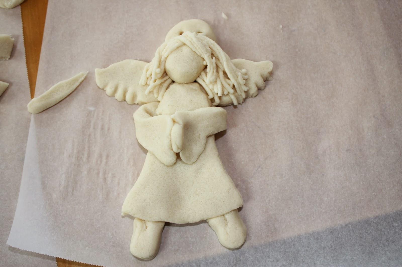 Ангелочек из солёного теста своими руками 12