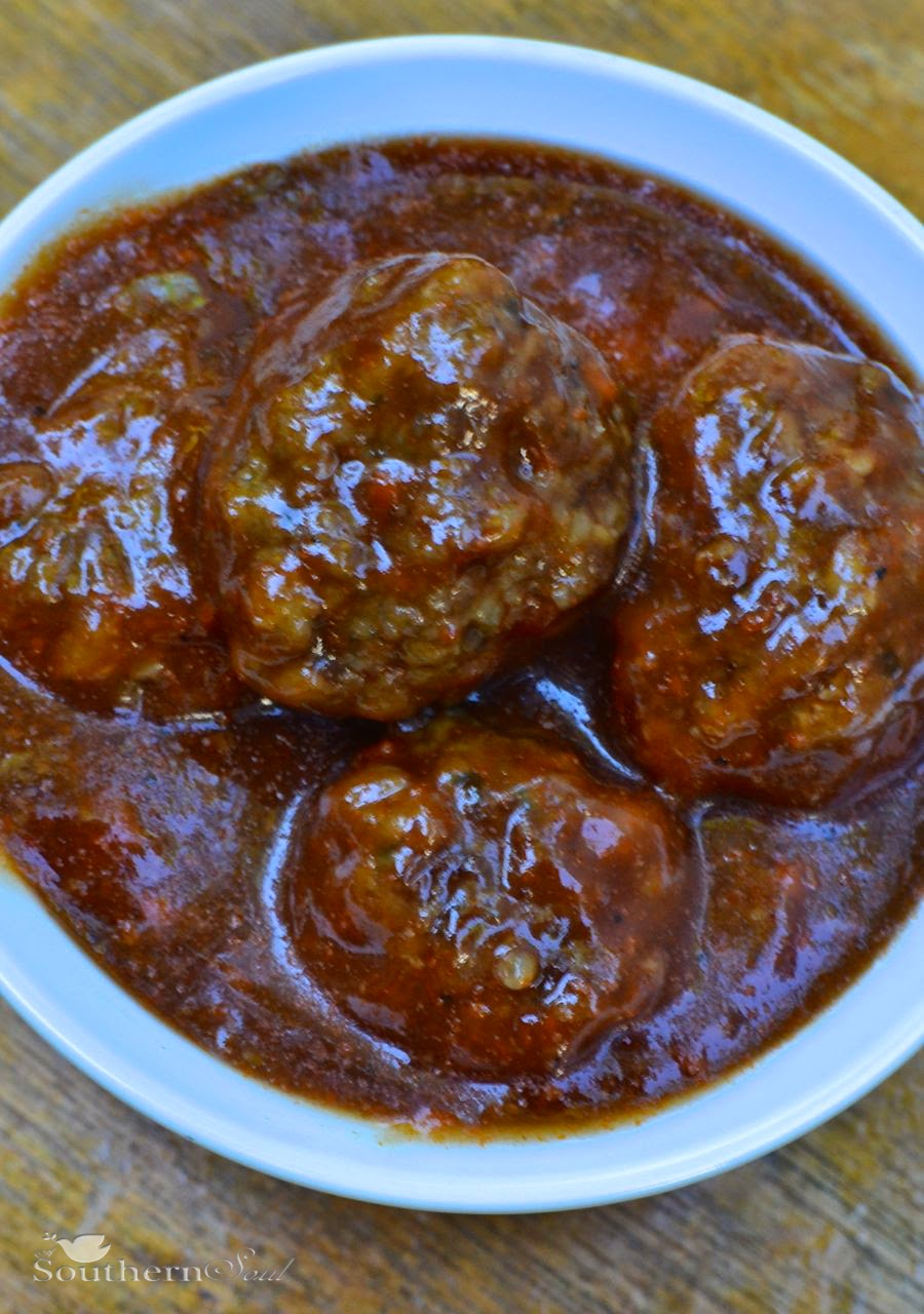 A Southern Soul | BBQ Meatballs